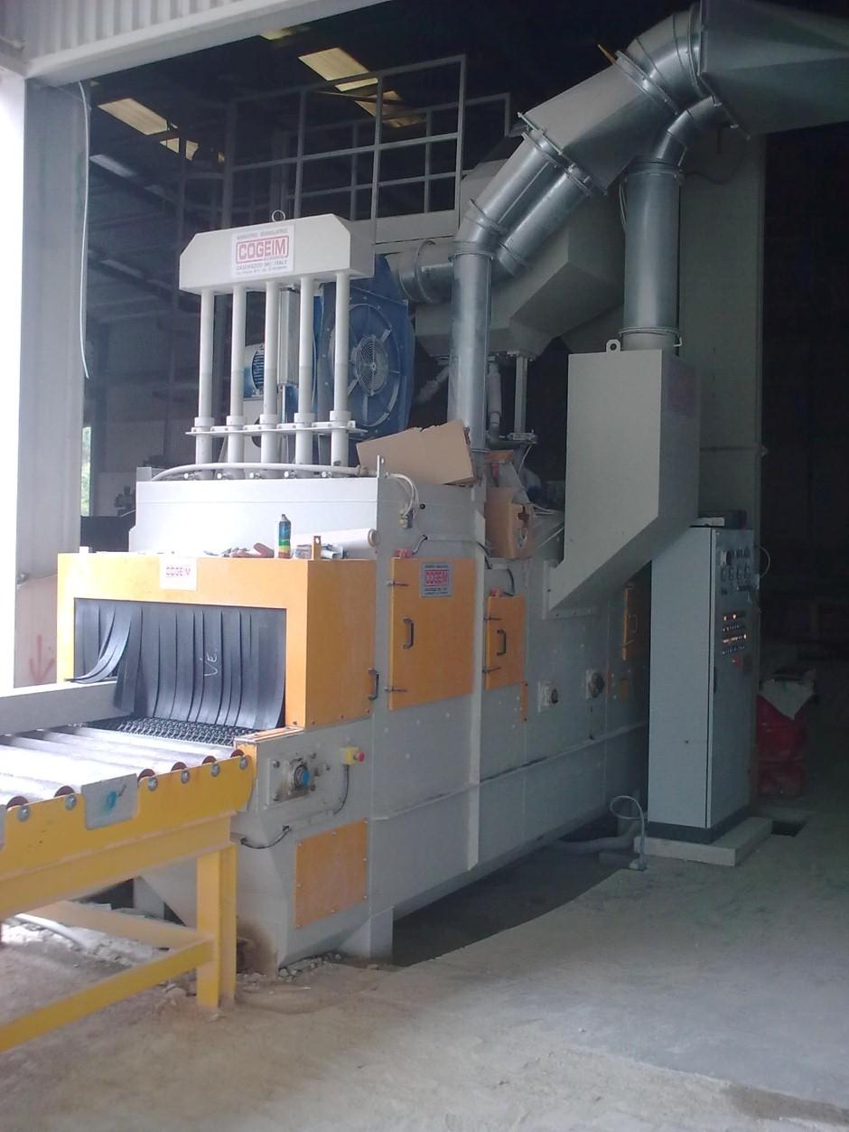 2) Granalhadora STL A 1000 2+1TR