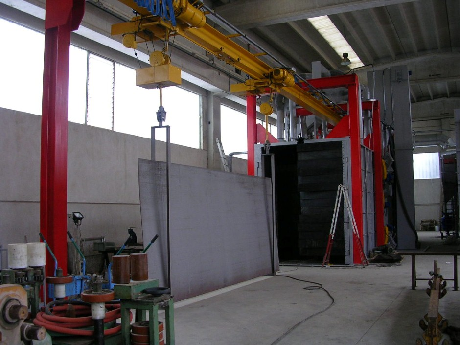 Granalhadora GTU 15X20 12TR