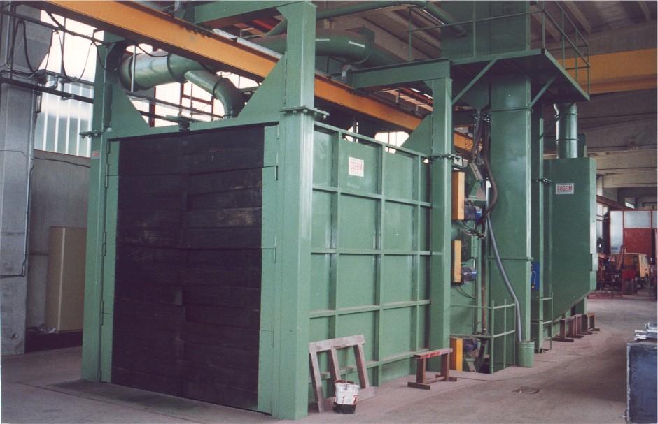 Granalhadora GTU 15x25 16TR
