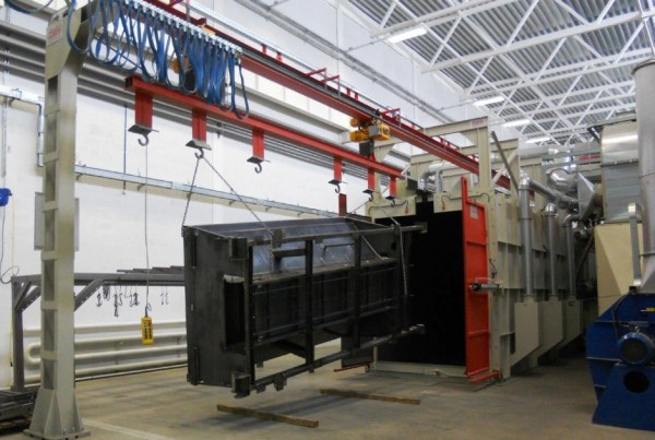 Granalhadora GTU 20x25 12TR