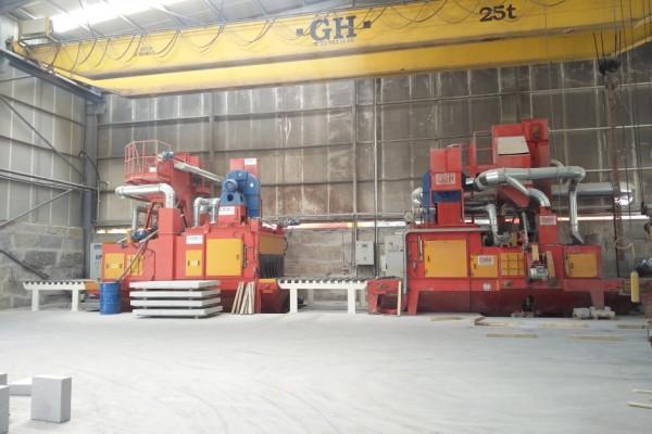 Granalhadora STL A 2200+4TR + STL A 1600+3TR