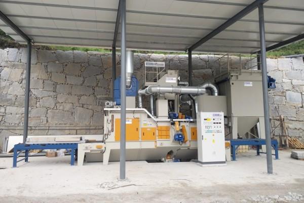 Granalhadora STL A 1600 3+1TR