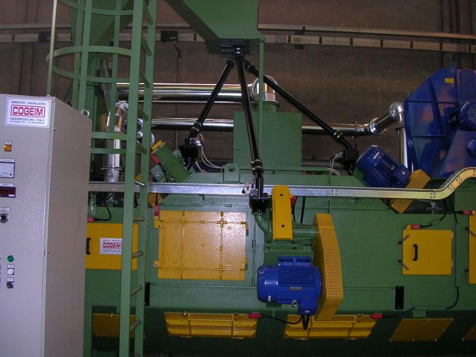 Granalhadora STL A 600 4-1TR