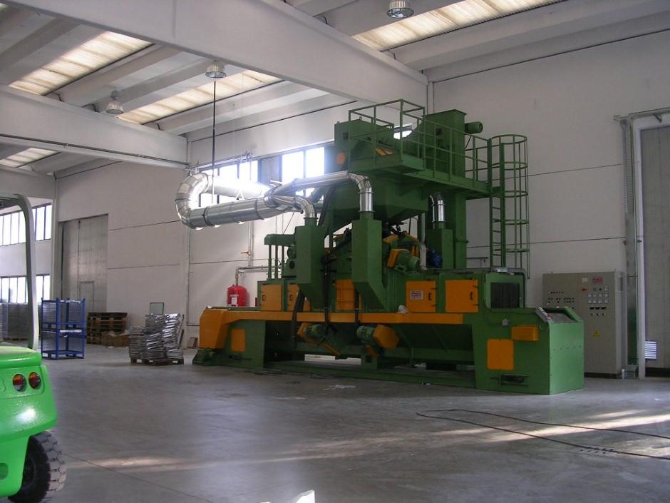 Granalhadora STL A 850 8TR