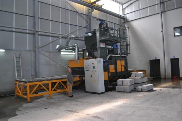 Granalhadora STL A 1800 3+1TR
