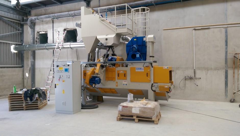 Granalhadora STL A 600 2+1TR
