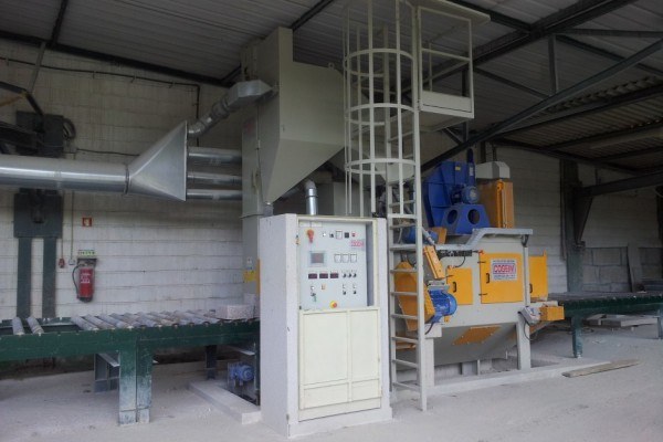 Granalhadora STL A 800 2+1TR H400