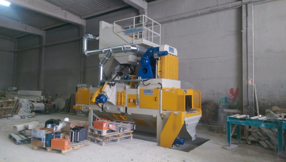 3) Shot Blasting Machine STL A 1000 2+1TR